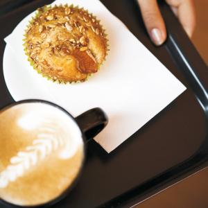 tork поднос с кофе